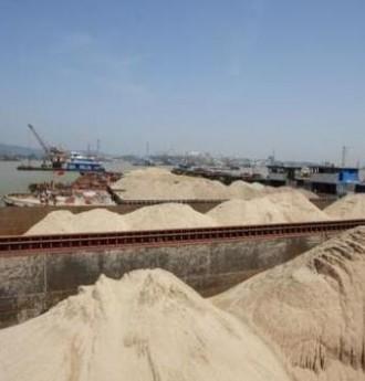 """[砼网快讯]为解砂""""荒"""" 这个地区政府组织采购5万吨进口河砂"""