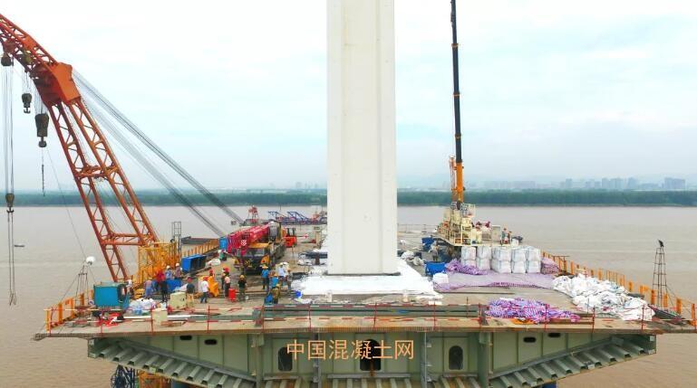 电子竞技正在哪能投注南京五桥中塔施工现场传来好消休